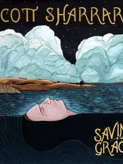 "The album cover for ""Saving Grace"" by Scott Sharrard."