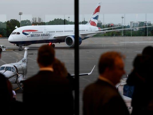 NAS-London Flight
