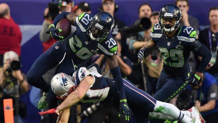 Feb 1, 2015; Glendale, AZ, USA; Seattle Seahawks cornerback