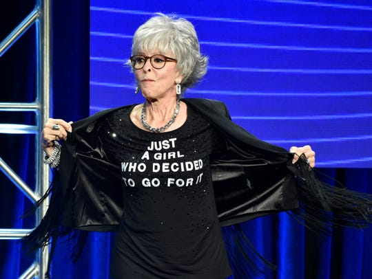 Lifetime Achievement Award honoree Rita Moreno shows