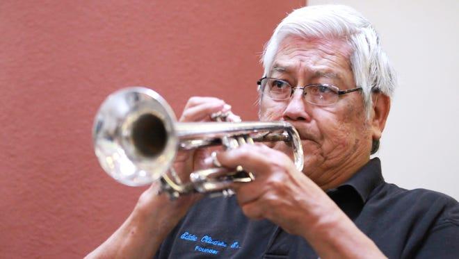 Eddie Olivares Sr., died Wednesday morning at age 86