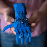 College students build 3D-printed prosthetic hands for kids