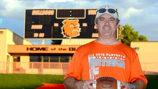Rex Henderson is the new Artesia Bulldogs football coach.