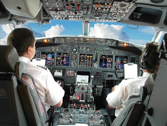 Aircraft pilots and flight engineers have median weekly