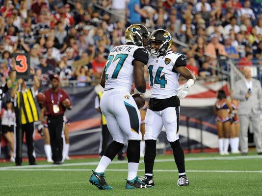 NFL: Jacksonville Jaguars at New England Patriots