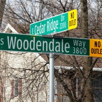 South Woodendale Way and East Cedar Ridge Drive in southeast Appleton are constructed to town standards.