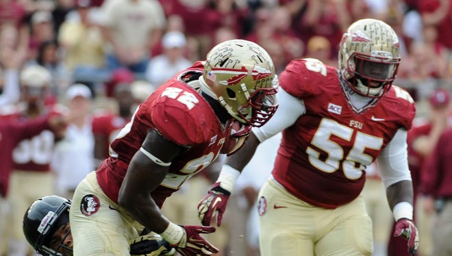 """Florida State defender Telvin Smith remembers last year's loss to Florida. """"A lot of us players were on that field,"""" FSU senior linebacker Telvin Smith said. """"So we feel that. We feel that pain. We're definitely going to tote that with us, but we're not going to shape this game around what was said."""""""