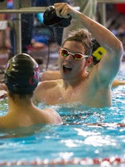 High School Swimming: Region 9 Championships at the