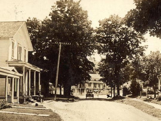 South Main Street in Chenango Forks, about 1915.