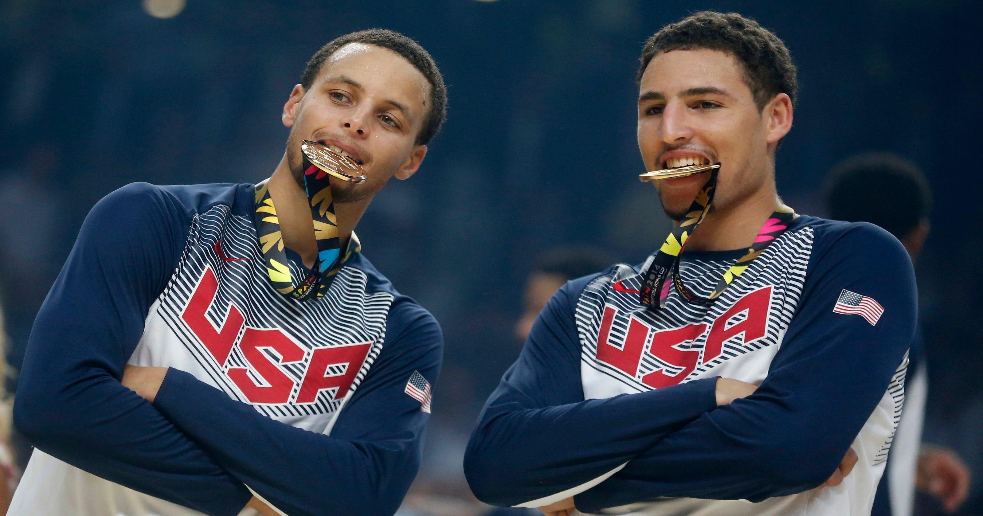 17cb9e7a28d Klay Thompson rises to NBA elite with golden offseason