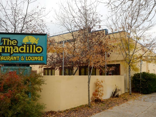 The former site of the Armadillo restaurant.