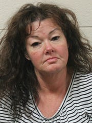 Parkside High School special education teacher, Monica Snee, 51, of Salisbury faces multiple drug charges including distribution of heroin on school property. Courtesy of  Wicomico County Sheriff's Office.