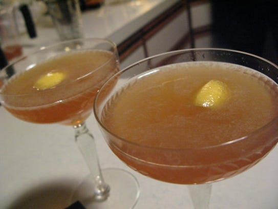 Brandy Crusta cocktail.