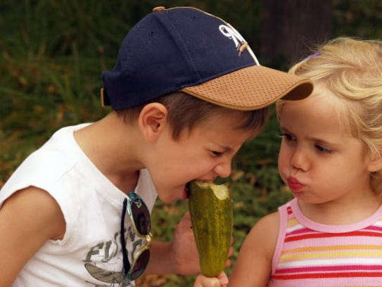 Try out a big pickle at the Wisconsin State Fair