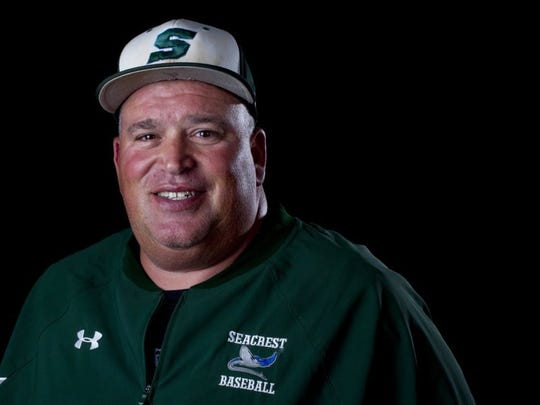 Seacrest baseball coach Mark Marsala was selected as the Florida Athletic Coaches Association Class 2A District 18 Coach of the Year.