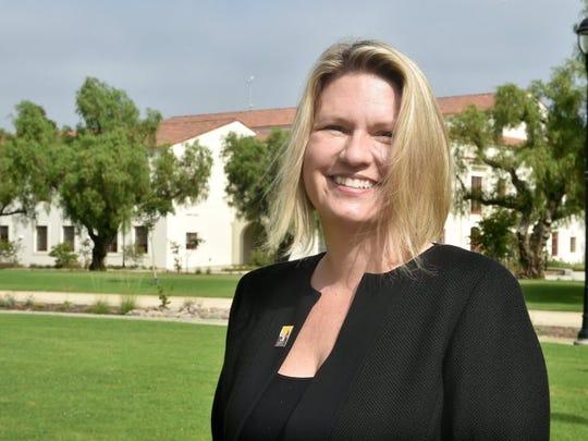 Erika Beck, president of CSU Channel Islands in Camarillo.