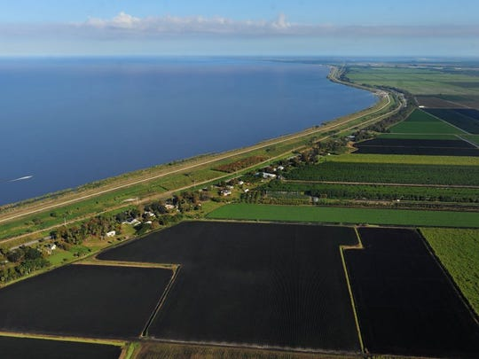 The Herbert Hoover dike around Lake Okeechobee is in need of $800 million in repairs. There are still questions as to where money will come from to fund the repairs. (FILE PHOTO)