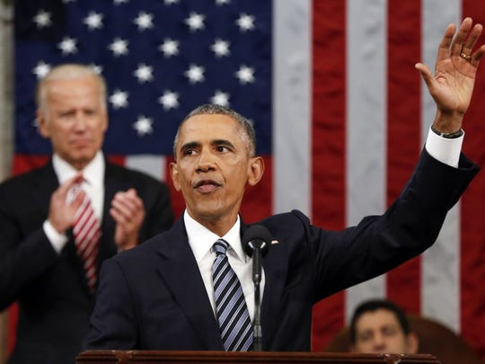 The Associated Press President Barack Obama delivered his final State of the Union address Tuesday night on Capitol Hill in Washington.