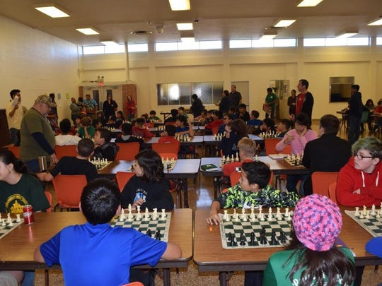 Dr. M.L. Garza-Gonzalez Charter School competed in a rated scholastic tournament against other schools from Corpus Christi on Feb. 6 at St. Patrick's Parish Hall.