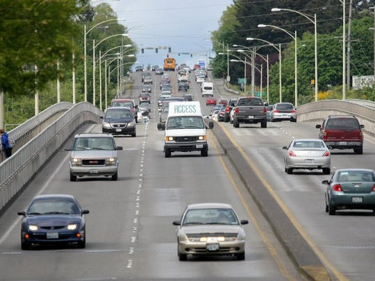 In Bremerton, a $1.5 million commitment for pedestrian improvements on the Warren Avenue Bridge will be delayed.