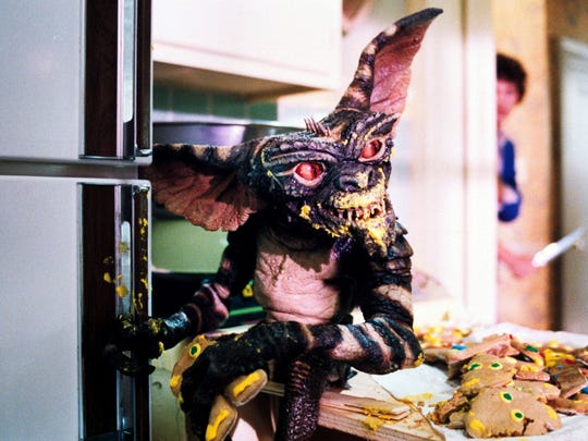 A gremlin goes on a cookie-demolishing rampage in 1984's
