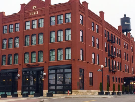 The Charmant Hotel in La Crosse is housed in a former