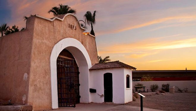 Next up for the Yuma Territorial Prison State Historic Park is a renovation of the sallyport, where prisoners entered the facility.