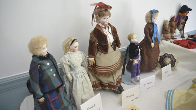 Fran McKeighan left her doll collection, appraised at some $10,000, to a museum at Colonial Williamsburg.