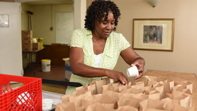 Pastor Debra Dale-Beyah, who was born and raised in Bridgeton, travels to and from Alabama to help feed poor children in Cumberland County during the summer when children are out of school.
