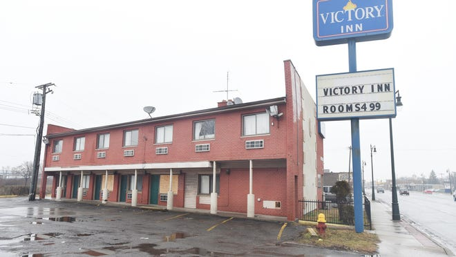 The Victory Inn caught fire Wednesday, two months after a judge shuttered the motel for one year, calling it a public nuisance.