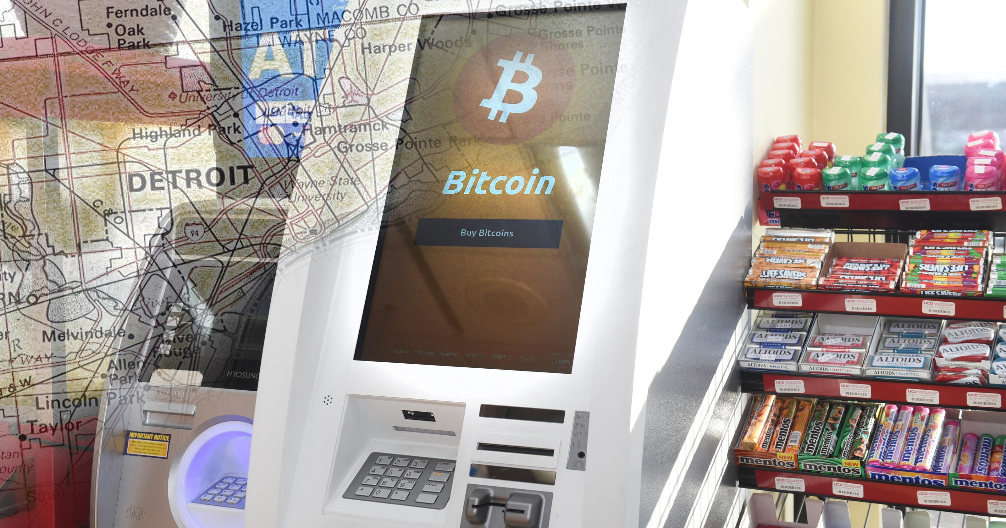 Bitcoin Atms In Detroit Party S Gas Stations
