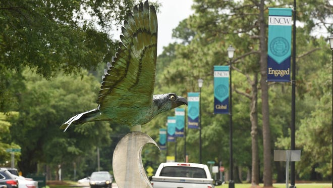 The campus of UNCW