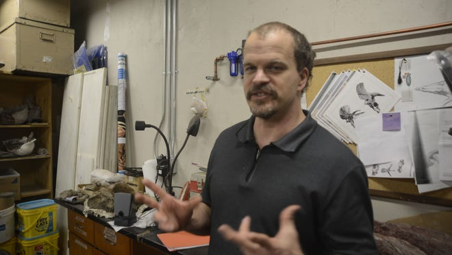 Andrew Heckert, a professor at Appalachian State University, is the lead author of a paper detailing the discovery of a species that went extinct some 230 million years ago.