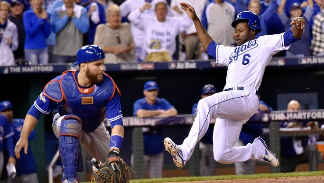 Outfielder Lorenzo Cain is a free agent. Could the Royals star join his former team in Milwaukee?