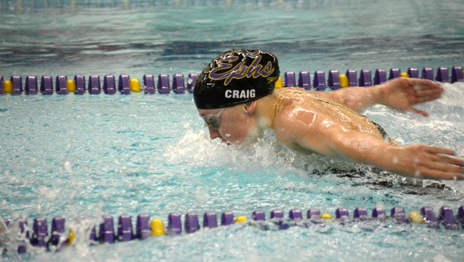 Elmira Notre Dame graduate Molly Craig swims for Williams College.