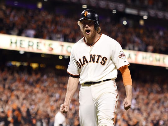 Hunter Pence and the Giants have been a model of stability