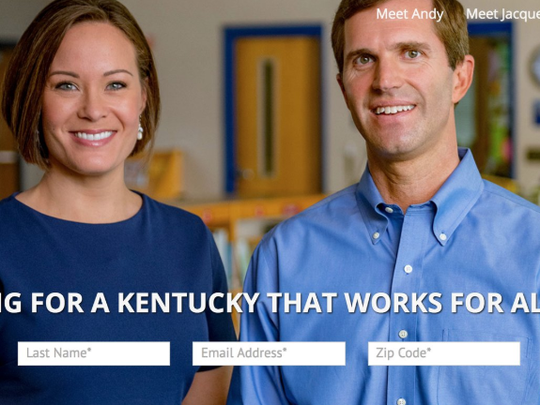 Attorney General Andy Beshear is expected to announce his candidacy for governor soon with his running mate, JAcqueline Coleman. Their website is already pre-built for the launch.