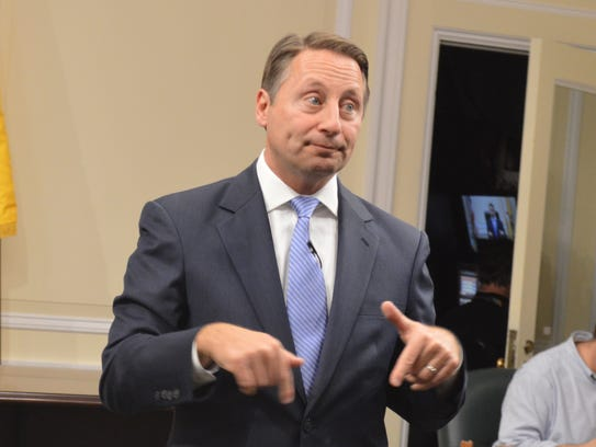 Westchester County Executive Rob Astorino faced an