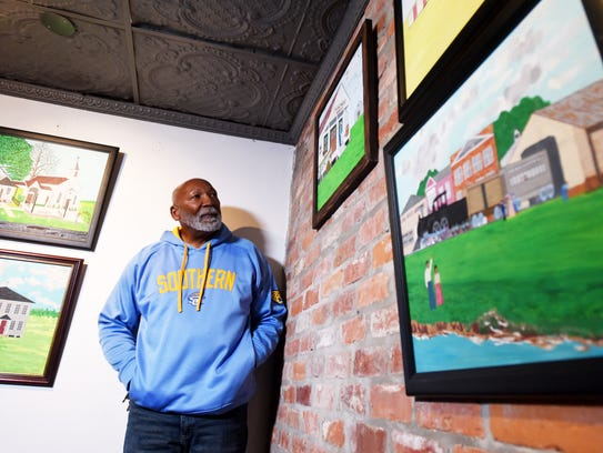 Wendell R Wilson has an art show at  Southern University