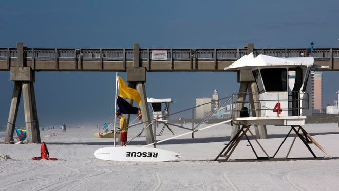 The Pensacola Beach Lifeguards are back in the towers of the 2018 beach season beginning Thursday, March 1. The lifeguards will staff the towers on a daily basis from 9am-5pm until Daylight savings time when they switch to a 10am-6pm schedule through mid-October.