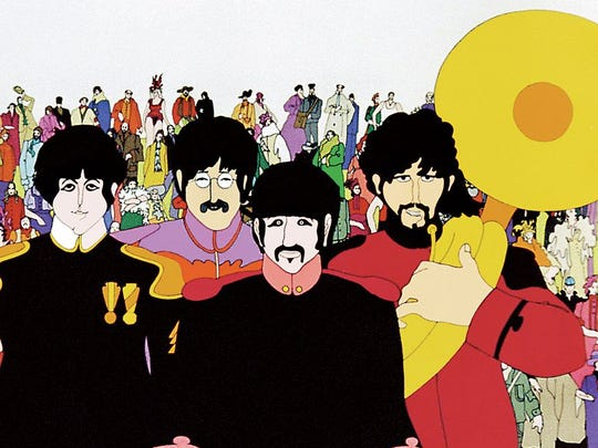 "Do you know the lyrics? You know you do. Sing along with ""Hey Bulldog,""Nowhere Man,"" ""Only A Northern Song,"" ""Love Is All You Need"" and more when The Beatles take off across a strange ocean in 50th anniversary edition of the animated film ""Yellow Submarine."" It's rated G and will be shown Saturday at All Saints Cinema. Visit www.tallahasseefilms.com. No, Peter Max did not animated it. It was done by Canadians and Brits."