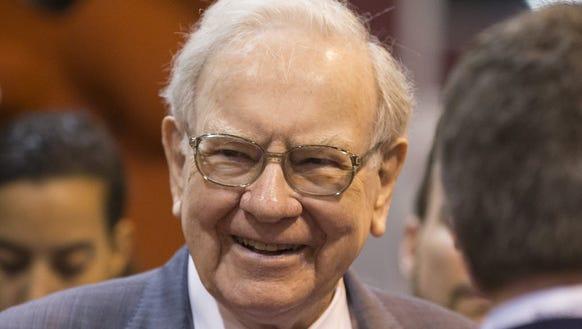 Berkshire Hathaway CEO Warren Buffett, 85, has yet