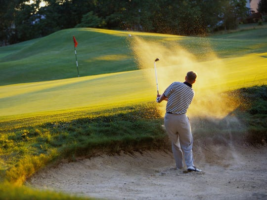 Several factors go into a good swing out of a sand