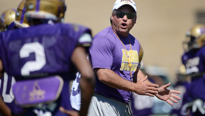 Alcorn State coach Jay Hopson has his team on top of two separate HBCU polls this week.