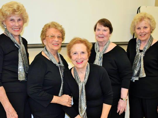 Ann Sofronas, Jean Brillhart, Elizabeth Thomas, Sue
