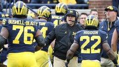 Michigan's Jim Harbaugh: Idea of me going to NFL 'warmed up oatmeal'