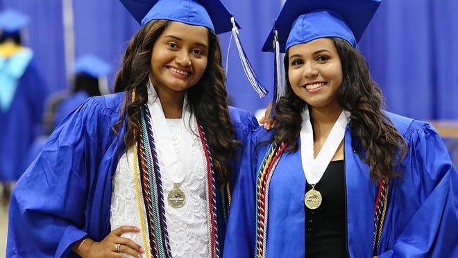 Inlet Grove High School graduation at The South Florida Fairgrounds, Thursday, May 16, 2019.