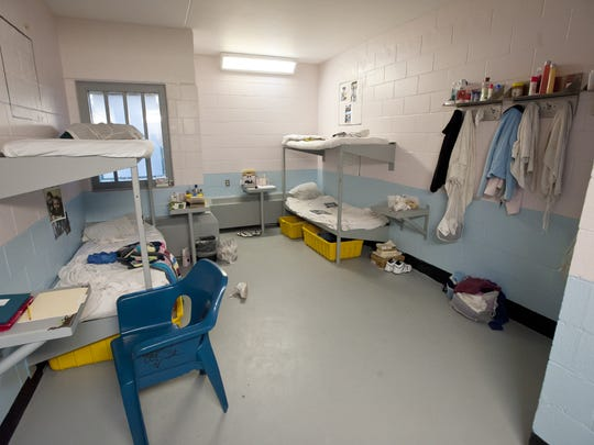 A cell at the Chittenden Regional Correctional Facility in South Burlington.