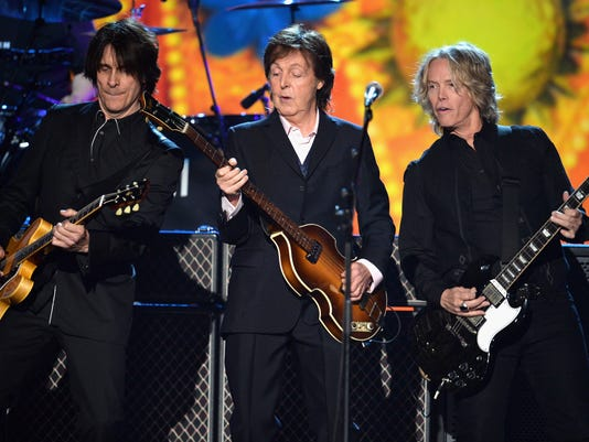 Rusty Anderson, Paul McCartney and Brian Ray