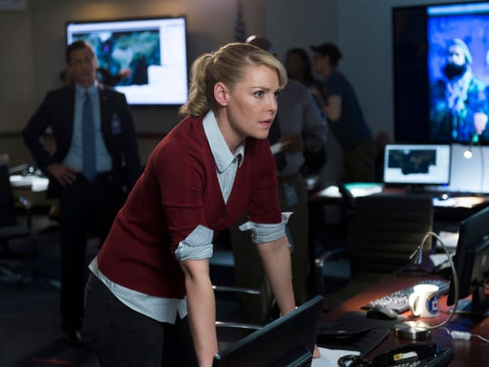 """Katherine Heigl as Charleston Tucker in a scene from """"State of Affairs,"""" premiering Nov. 17."""